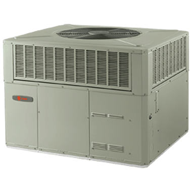 Trane XR14c air conditioner packaged systems.