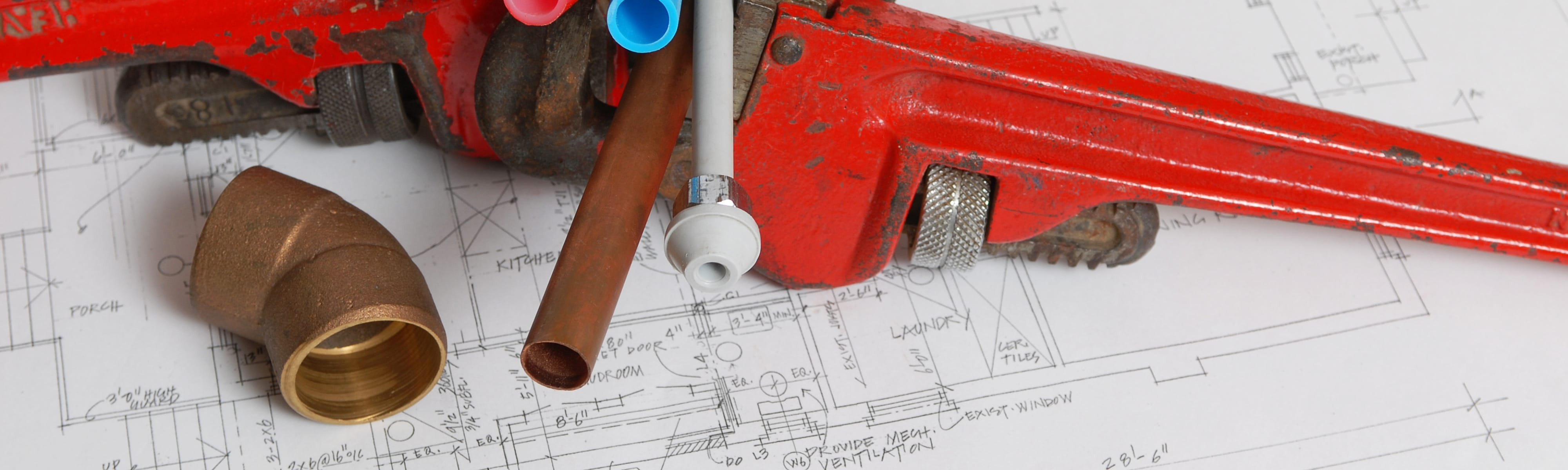 Tools on blueprints.